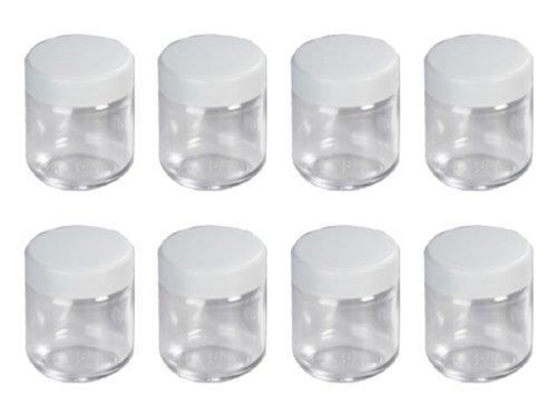 Achat severin 3517 accessoires jeu de 8 pots en verre - Pots de yaourts en verre avec couvercle ...