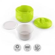 Klarstein-MeYo-Yaourtire-1L-sans-courant-prparation-de-yaourt-maison--lancienne-sans-lectricit-vert-pomme-0-0