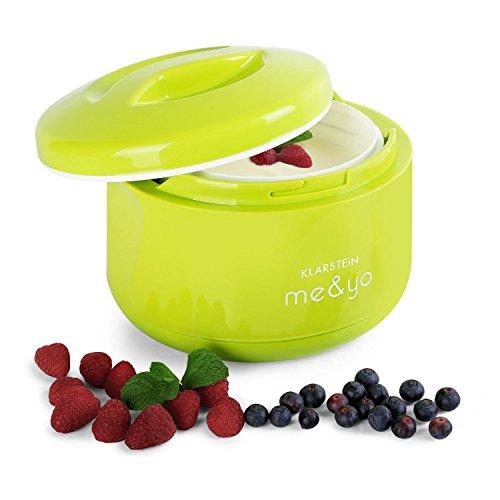Klarstein-MeYo-Yaourtire-1L-sans-courant-prparation-de-yaourt-maison–lancienne-sans-lectricit-vert-pomme-0