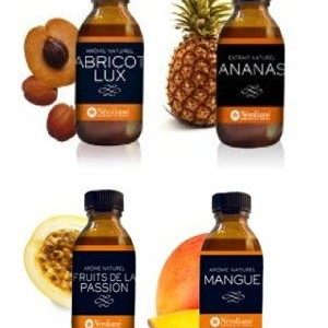 Arome-naturel-lot-de-4-flacons50-ml-Abricot-Ananas-Mangue-Passion-0