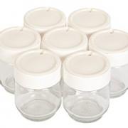 Moulinex-YG231E32-Yaourtire-Yogurteo-Programmable-7-Pots-de-Yaourt-Inclus-Ecran-LCD-Silver-Premium-0-0