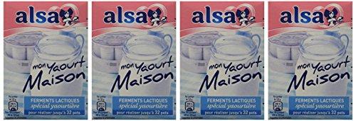 Alsa-Prparation-Mon-Yaourt-Maison-128-Pots-Lot-de-4×32-Pots-0