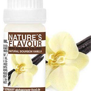 ALPHAPOWER-FOOD-Arme-alimentaire-1400-liquide-gouttes-aromatisantes-et-dulcorant-sans-sucre-1x10ml-Got-vanille-de-Bourbon-got-dlicieux-vegan-liquid-sweetener-Flavour-Drops-Flavdrops-0