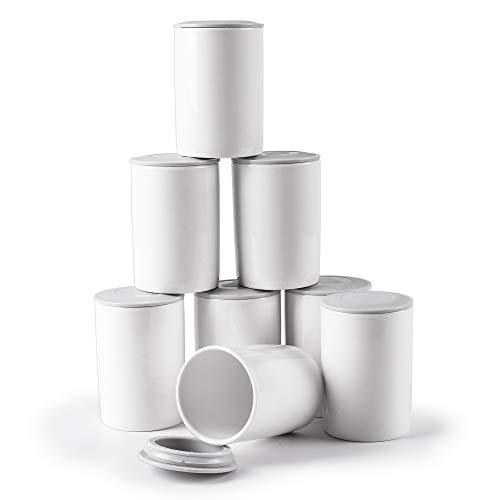 Duronic-P8YM2-8-Pots-en-cramique-de-125-ml-compatible-avec-yaourtire-YM1-et-YM2-de-Duronic-0