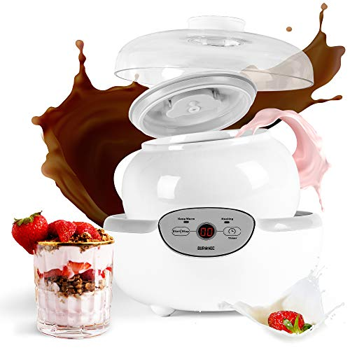 Duronic-YM1-Yaourtire-lectrique-avec-cran-numrique-et-1-pot-en-cramique-de-1500-ml-Parfait-pour-prparer-des-yaourts-sauces-et-desserts-lacts-faits-maison-0