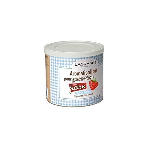 Lagrange-380320-Pot-de-425g-arome-fraise-pour-yaourtire-0